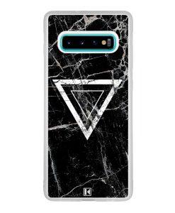 Coque Galaxy S10 Plus – Black marble