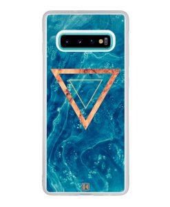 Coque Galaxy S10 Plus – Bleu rosewood