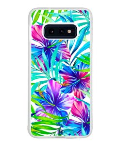 Coque Galaxy S10e – Extoic flowers