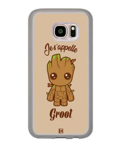 Coque Galaxy S7 – Je s'appelle Groot
