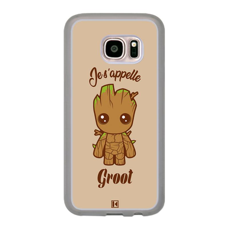 Coque Galaxy S7 – Je s'appelle Groot