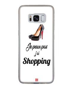 Coque Galaxy S8 – Je peux pas j'ai Shopping