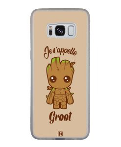 Coque Galaxy S8 – Je s'appelle Groot
