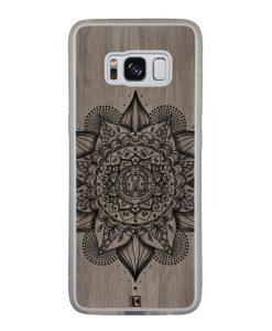 Coque Galaxy S8 – Mandala on wood