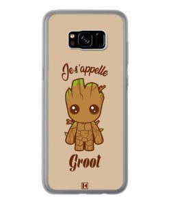 Coque Galaxy S8 Plus – Je s'appelle Groot