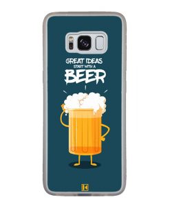 Coque Galaxy S8 – Start with a beer