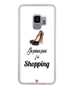Coque Galaxy S9 – Je peux pas j'ai Shopping