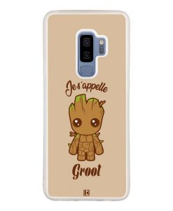 Coque Galaxy S9 Plus – Je s'appelle Groot