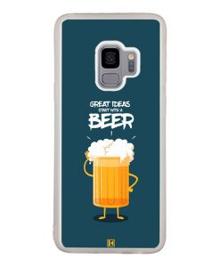 Coque Galaxy S9 – Start with a beer