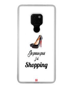 Coque Huawei Mate 20 – Je peux pas j'ai Shopping