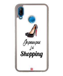 Coque Huawei P20 Lite – Je peux pas j'ai Shopping
