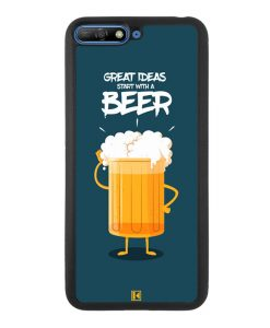 Coque Huawei Y6 2018 – Start with a beer