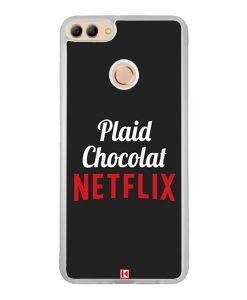 Coque Huawei Y9 2018 – Plaid Chocolat Netflix