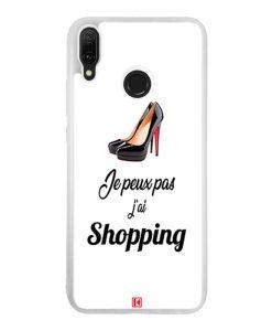 Coque Huawei Y9 2019 – Je peux pas j'ai Shopping