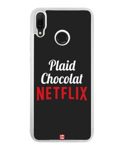 Coque Huawei Y9 2019 – Plaid Chocolat Netflix