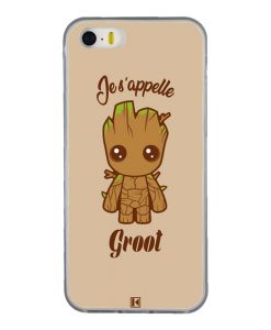Coque iPhone 5/5s/SE – Je s'appelle Groot