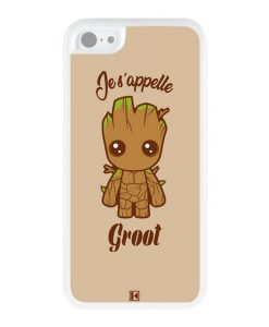 Coque iPhone 5c – Je s'appelle Groot