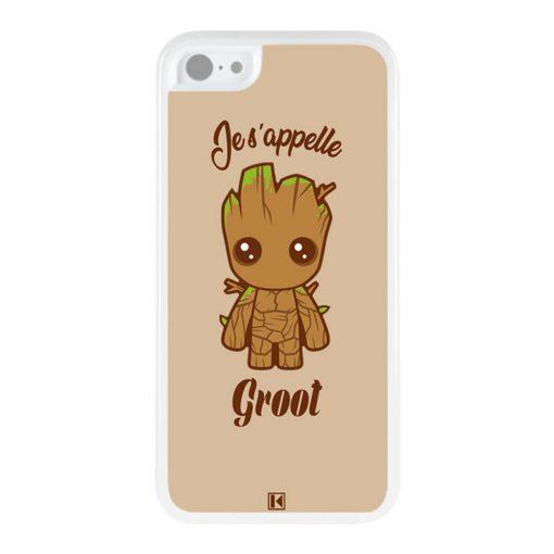 Coque iPhone 5c – Je s'appelle Groot