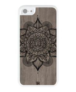 Coque iPhone 5c – Mandala on wood