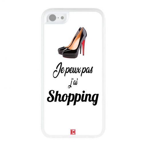 Coque iPhone 5c – Je peux pas j'ai Shopping