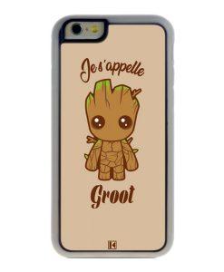 Coque iPhone 6 / 6s – Je s'appelle Groot