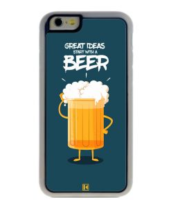 Coque iPhone 6 / 6s – Start with a beer