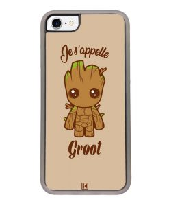 Coque iPhone 7 / 8 – Je s'appelle Groot