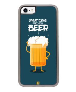 Coque iPhone 7 / 8 – Start with a beer