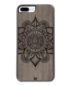 Coque iPhone 7 Plus / 8 Plus – Mandala on wood