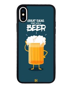 theklips-coque-iphone-x-iphone-xs-rubber-noir-start-with-a-beer