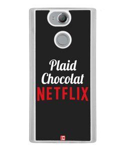 Coque Xperia XA2 – Plaid Chocolat Netflix