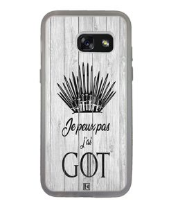 Coque Galaxy A3 2017 – Je peux pas j'ai Game of Thrones