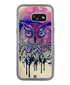 Coque Galaxy A3 2017 – Owl face