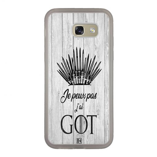 Coque Galaxy A5 2017 – Je peux pas j'ai Game of Thrones