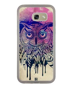 Coque Galaxy A5 2017 – Owl face