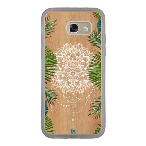 Coque Galaxy A5 2017 – Tropical wood mandala