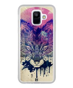 Coque Galaxy A6 2018 – Fox face