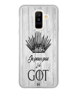 Coque Galaxy A6 Plus – Je peux pas j'ai Game of Thrones