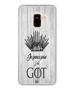 Coque Galaxy A8 2018 – Je peux pas j'ai Game of Thrones