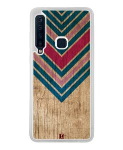 Coque Galaxy A9 2018 – Chevron on wood