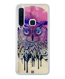 Coque Galaxy A9 2018 – Owl face