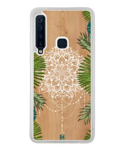 Coque Galaxy A9 2018 – Tropical wood mandala