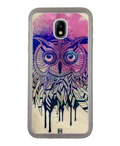 Coque Galaxy J3 2017 – Owl face