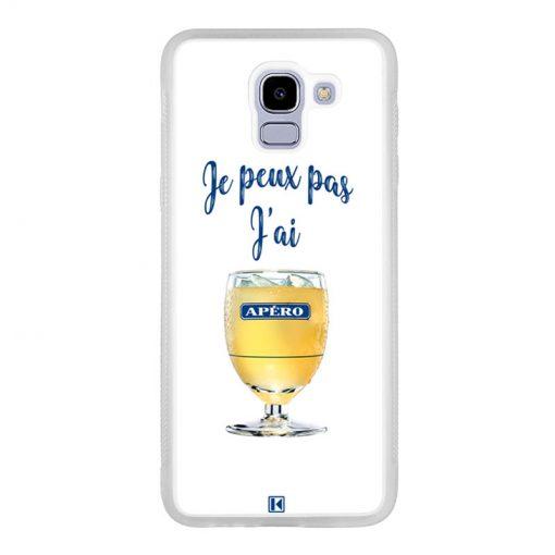 Coque Galaxy J6 2018 – Je peux pas j'ai Apéro