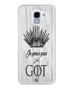 Coque Galaxy J6 2018 – Je peux pas j'ai Game of Thrones