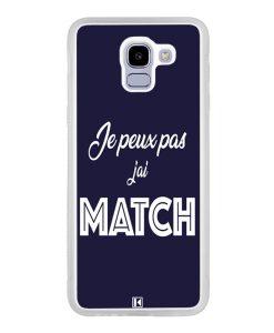 Coque Galaxy J6 2018 – Je peux pas j'ai Match
