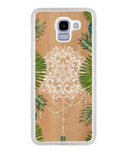Coque Galaxy J6 2018 – Tropical wood mandala