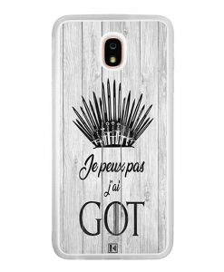 Coque Galaxy J7 2018 – Je peux pas j'ai Game of Thrones
