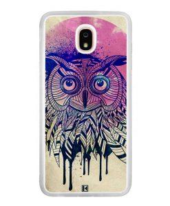 Coque Galaxy J7 2018 – Owl face