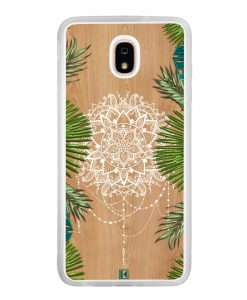 Coque Galaxy J7 2018 – Tropical wood mandala